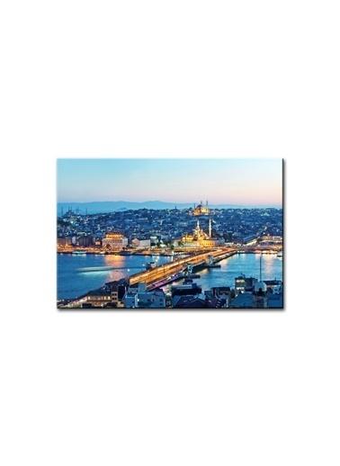 Arte Casero İstanbul Kanvas Tablo 75x100 cm  Renkli